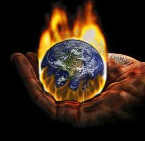 Global warming is one of the main global issues that results from green house gases