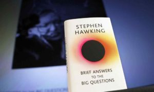 "Stephen Hawking's latest book ""Brief Answers to the big questions"""