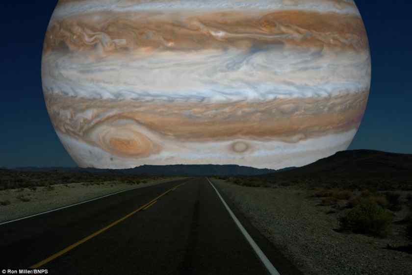 If Planets were as close as the moon