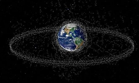 How many satellites orbit the earth