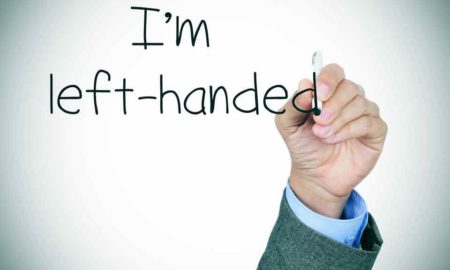 why some peoples are left-handed