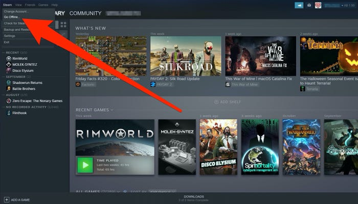 how-to-play-steam-games-offline
